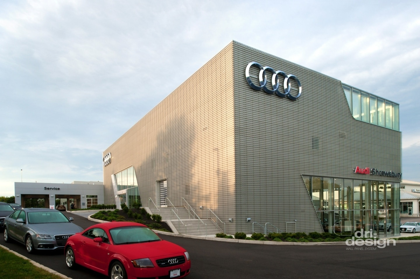 Shrewsbury Audi Dri Design