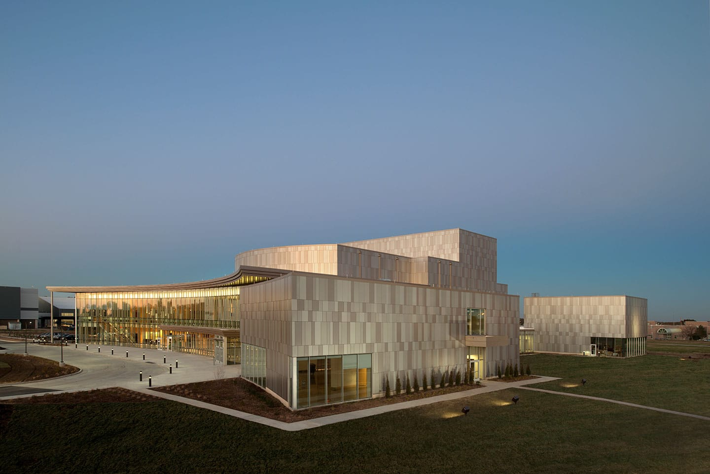 Pittsburg State Bicknell Center Dri Design